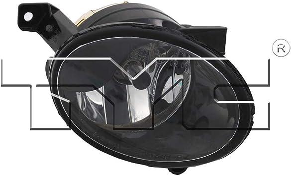 Partslink Number VW2593118 OE Replacement Volkswagen Passenger Side Fog Light Assembly