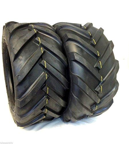 Deestone TWO 16x6.50-8 4ply 16x6.50x8 Tractor Lug Ag Tire 16x650-8 16x650x8 2 Tires Pair ()