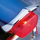 National Cycle Rear Chrome Fender Tip for 2001-2013 Suzuki C50 Boulevard, VL800 - One Size