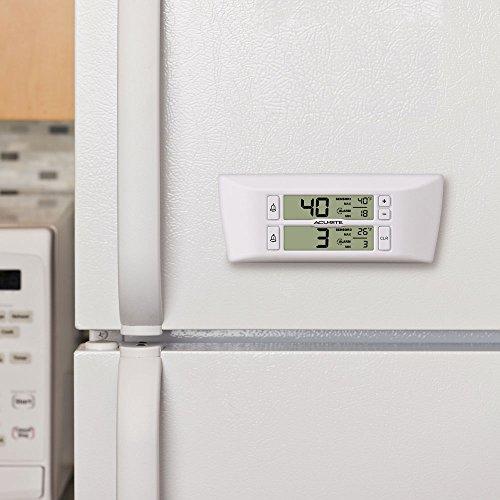 Acurite 00986m Refrigerator Freezer Wireless Digital