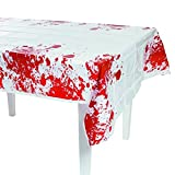 zombie supplies - Fun Express Plastic Zombie Blood Table Cloth   2-Pack (2 Count)   Party Decor   Great for Halloween Zombie-Themed Parties