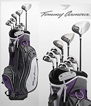 Tommy Armour Black Scot - Juego completo de palos de golf ...