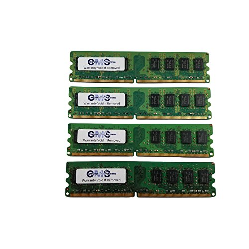 16Gb (4X4Gb) Ram Memory Compatible with Dell Poweredge 6800 Pc3200 Ecc Reg For Servers Only By CMS B48