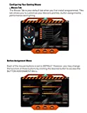 Forestfish USB Wired Computer Gaming Mouse with Adjustable 3200 DPI 4 Programmable Buttons LED PC Gaming Mice for Pro Gamers