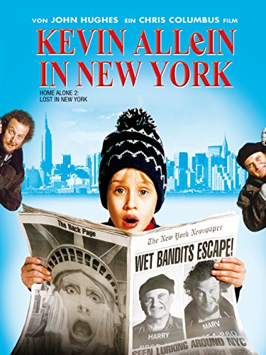 Filmcover Kevin - Allein in New York