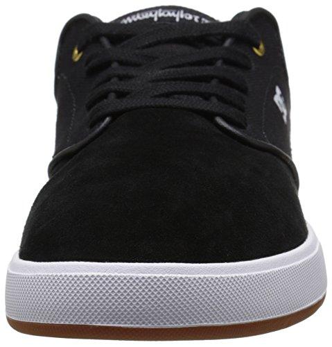 DC Men's MIKEY TAYLOR Shoe, Black/White/Gum, 10 D US