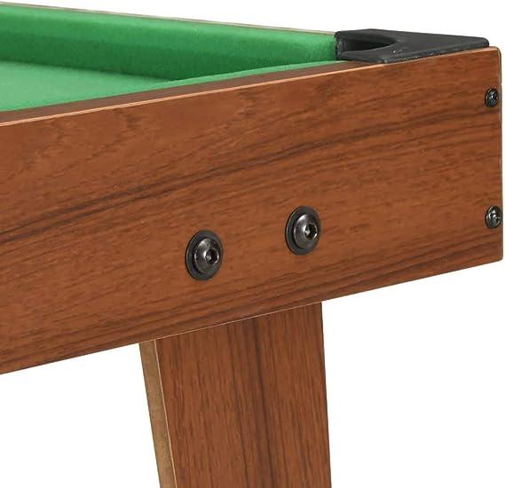 vidaXL Mini Mesa de Billar Juego Simulación Deportes Diversión ...