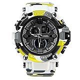 Military Watch, Men's Digital Watch, Outdoor Sports Waterproof Wrist Watch Multifunctional Auto Date Multi Function LED...