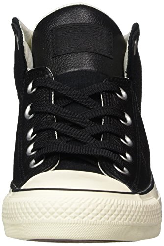 Tonal Men's Black Street Sneaker Top Canvas High Leather Converse Pzvww