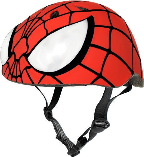 Spider Man Child Helmet (Marvel Spiderman Hero Helmet, Red)