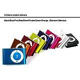 Foshin Mini Fashoin Clip Metal USB MP3 Music Media Player Support 1-8GB Micro SD