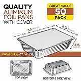 Rectangular Disposable Aluminum Foil Pan Take Out