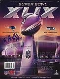 xlix program - Malcolm Butler New England Patriots Signed Autographed Super Bowl XLIX Program A