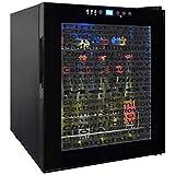 Vinotemp VT-15TSWV Wine Varietal 15-Bottle Wine Cellar, Black