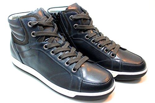 Nero Giardini A503651U 200 Azul, Color Negro y Antracita Polacchine Stringate Para Hombre negro
