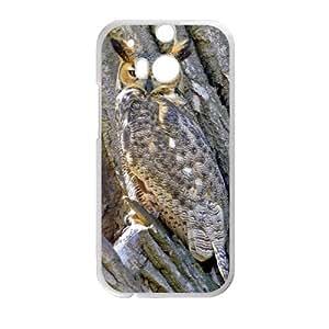 Camo Tree Hybrid Shockproof Protective &Cute Owl Bird Tree Custom Case for HTC One M8