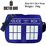 E.a@market Anime Doctor Who Canvas Messenger Bag (A) - Best Reviews Guide