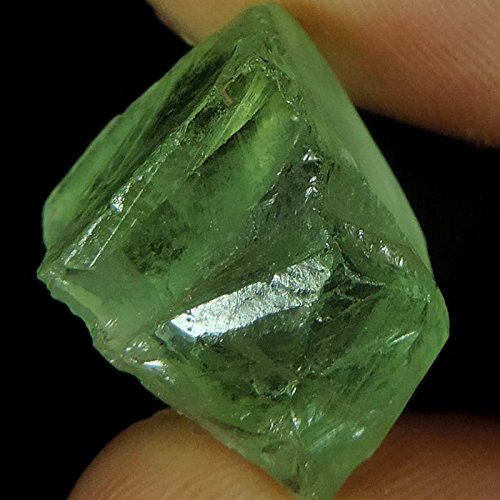 21.10CTS. 100% Natural Green Amethyst Rough TRANSLUCENT Gemstone india