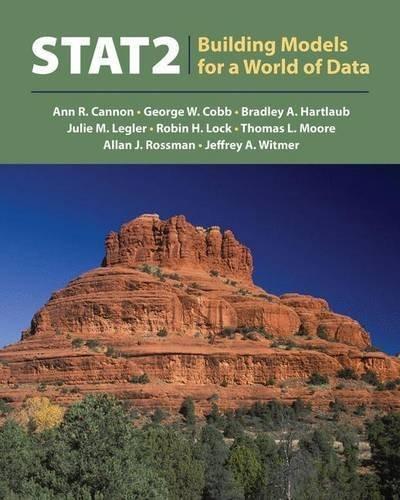 STAT2: w/Book Companion Site Premium Access Card by Ann R. Cannon (2012-12-14)