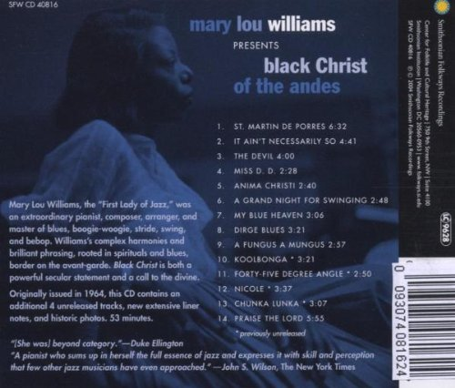Mary Lou Williams Presents: Black Christ Of The Andes