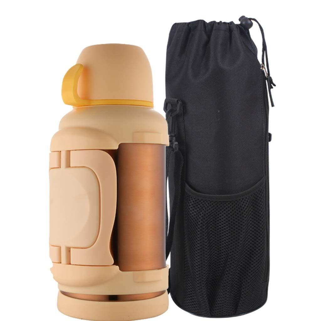 FYCZ Thermoskannen, 304 Edelstahl Outdoor Große Kapazität Wasserflasche Reise Outdoor Wärmflasche Auto 3L Der Männer