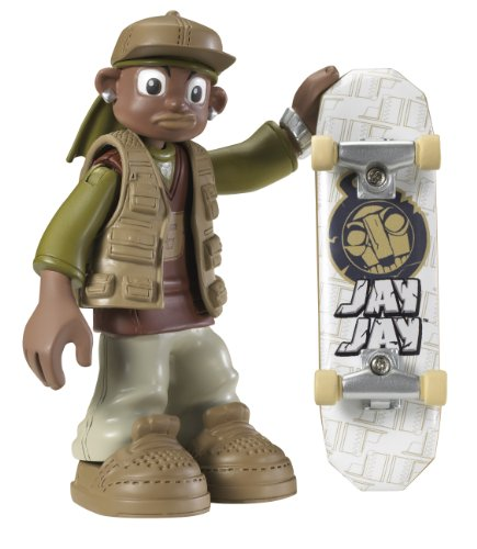 Rob Dyrdek's Wild Grinders Jay Jay Action Skate Set With DVD (Wild Grinders Jack Knife)