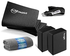 Yes4All PVC Yoga Kit - Black - ²HAEAZ