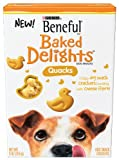 Beneful Baked Delights Quacks Dog Snack, 9-Ounce (Pack of 5), My Pet Supplies