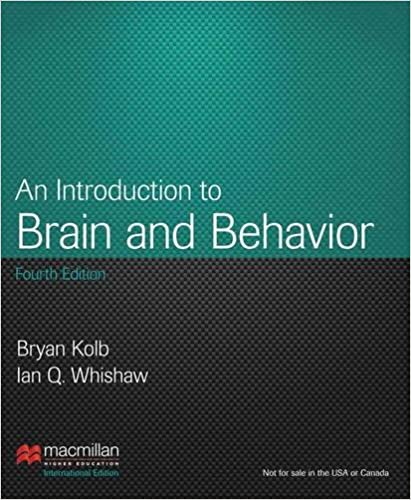 Book An Introduction to Brain and Behavior