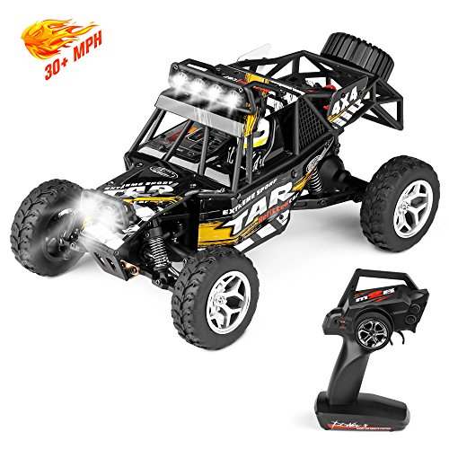 Geekper LED Light Remote Control Car, Terrain RC Cars, Elect