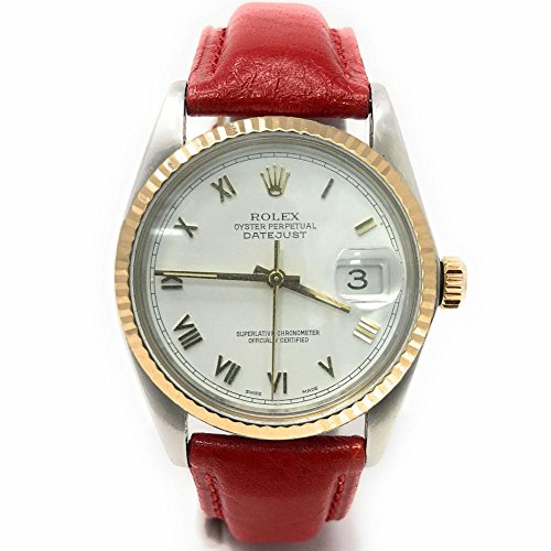 Pre Owned Rolex - Rolex Datejust swiss-automatic mens Watch 16013 (Certified Pre-owned)