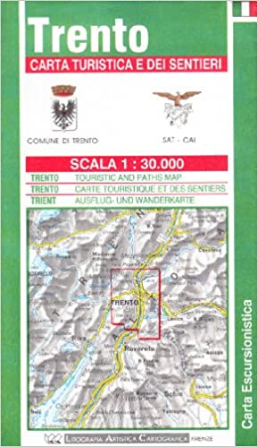 Buy Trento Tourist Road and Footpath Map Book Online at Low Prices