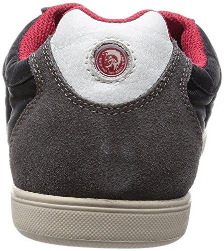 Diesel Heren Vintagy Lounge Sneakers, Sandshell / Leather Brown
