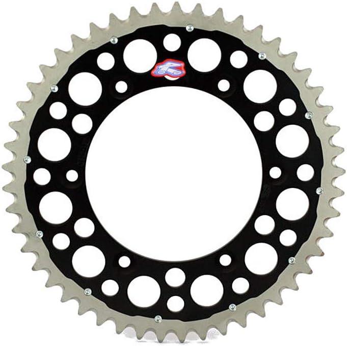 Renthal 2240-520-48GPBK Twinring Black 48 Tooth Rear Sprocket