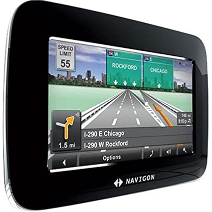 Navigon  Inch Portable Gps Navigator