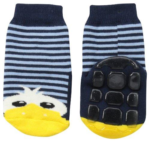 Country Kids Baby Boys Non Skid Slipper Socks
