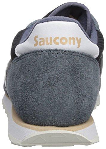 Chaussure De Course Saucony Jazz Low Pro Pro Gris / Blanc