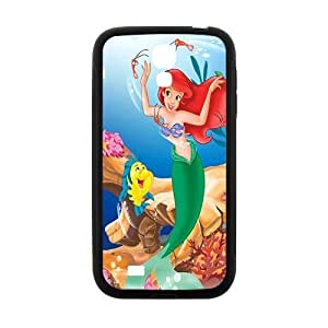 SANLSI The little mermaid Case Cover For samsung galaxy S4 Case
