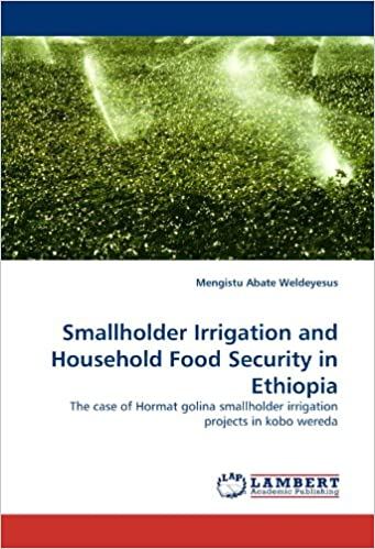 Book Smallholder Irrigation and Household Food Security in Ethiopia: The case of Hormat golina smallholder irrigation projects in kobo wereda
