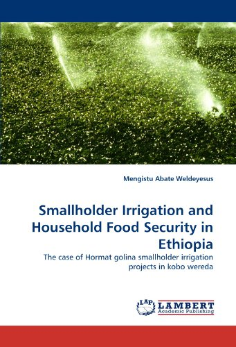 Smallholder Irrigation and Household Food Security in Ethiopia: The case of Hormat golina smallholder irrigation projects in kobo wereda