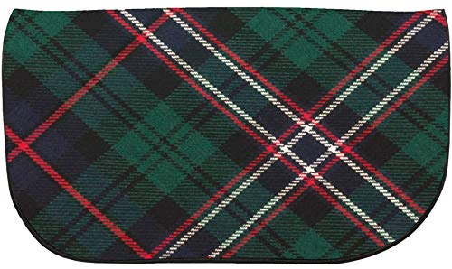 With Back Tartan Inside Scotland And Bag Clutch National Leather Large Pocket wxzSpW1qt6
