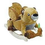 Rockabye Buckee Beaver Rocker Ride On