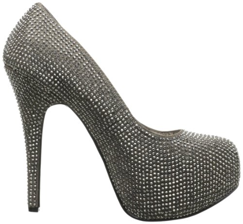 Grey Chaussures Femme Drk Rs Talons À Satin Bordello pewter dOqS7Xwxq