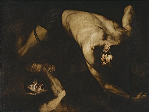 [Perfect Effect Canvas ,the Cheap But High Quality Art Decorative Art Decorative Prints On Canvas Of Oil Painting 'Ribera Jose De Ixion 1632 ', 8 X 11 Inch / 20 X 27 Cm Is Best For Bathroom Gallery Art And Home Decor And] (Dracula Makeup)
