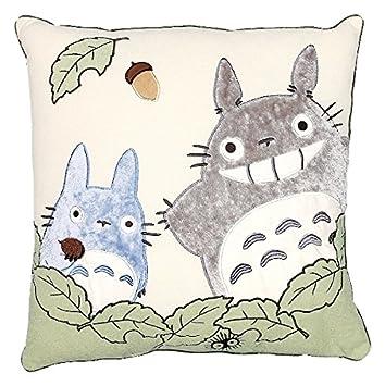 Amazon.com: Mi vecino Totoro Jumbo – Cojín (23 x 23 en ...