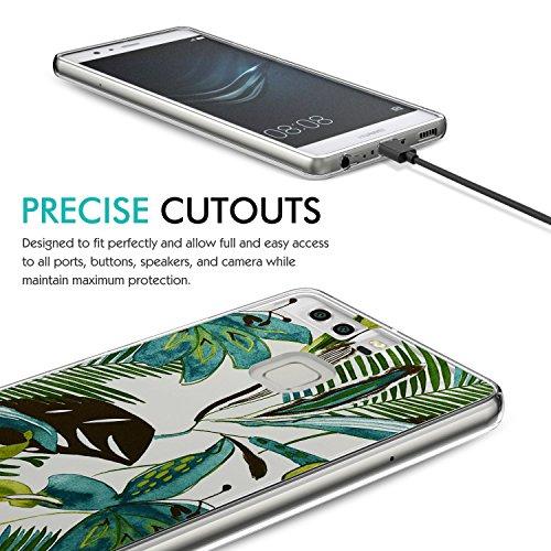Résistante Cas Caisse Protection P9 Vanki Pour P9 Couverture Silicone La D'armure À L'impact Huawei P10 Transparente Tpu Marbre De rx80zqr