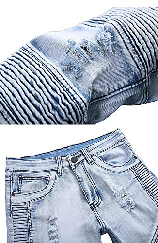 Uomo Abbigliamento Uomo Jeans Colour Strappati Pantaloni Da Strappati Adelina Faltig Hole xZqpA8YEZw