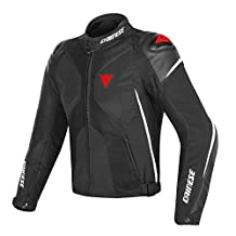 Dainese Super Rider D-Dry Jacket Black/White/Red 56 Euro/46 USA