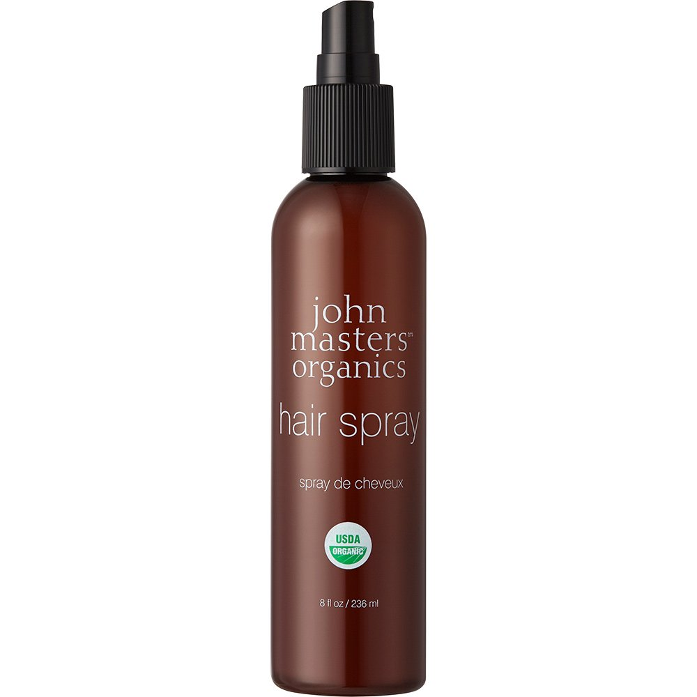 John Masters Organics - Hair Spray - for all Hair Types Medium Hold and Natural Ingredients with Aloe Vera - Travel Size - 8 oz