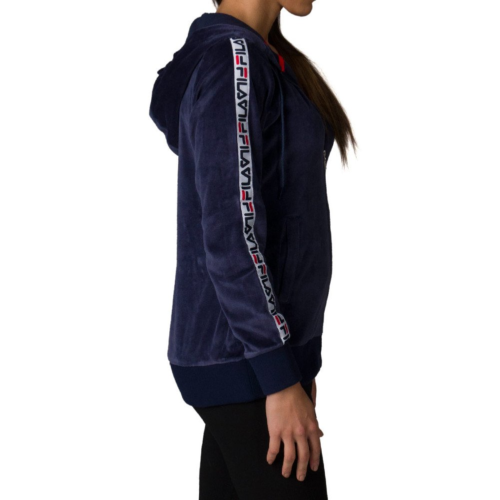 Fila Womens Maureen Velour Jacket